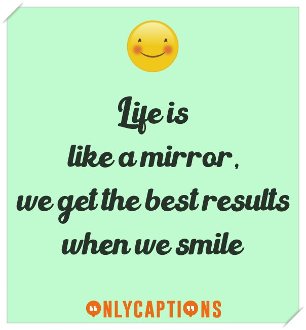 Best selfie captions for Instagram on smile