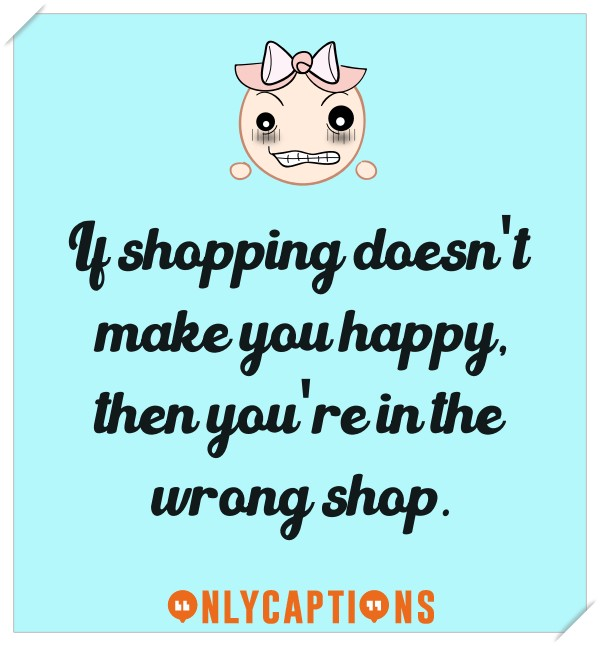 Shopping Instagram Captions for Girls (2020) Quotes