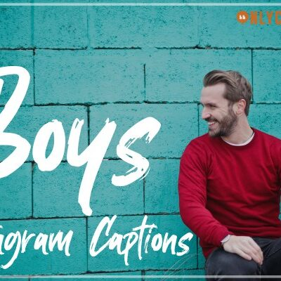 Instagram Captions for Boys Best Good Cool Attitude-OnlyCaptions
